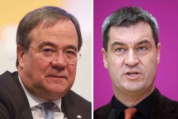 Armin Laschet und Markus Söder, über dts Nachrichtenagentur