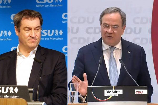 Markus Söder und Armin Laschet, über dts Nachrichtenagentur