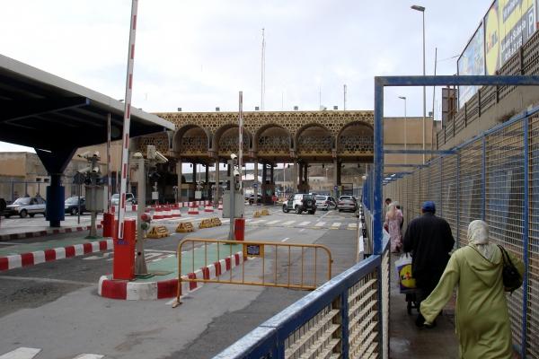 Grenzübergang zwischen Ceuta und Marokko, über dts Nachrichtenagentur