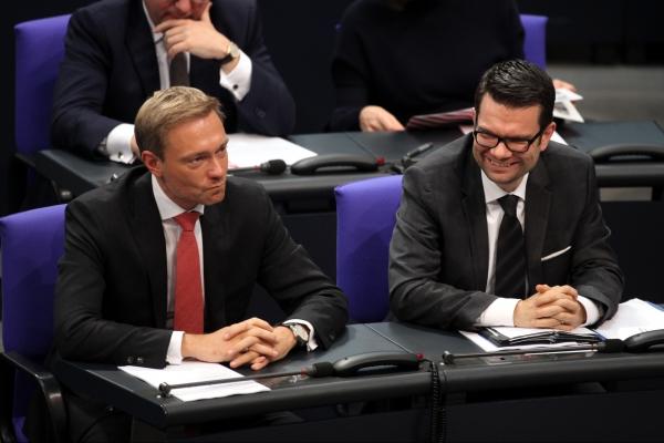 Christian Lindner und Marco Buschmann, über dts Nachrichtenagentur