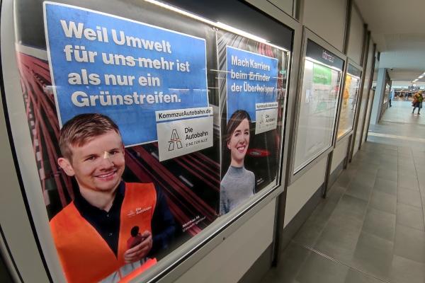 Stellenanzeige für die Autobahn GmbH, über dts Nachrichtenagentur