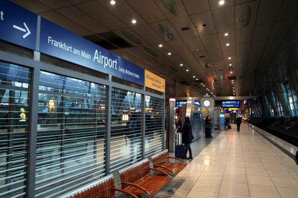 Frankfurt/Main Flughafen Fernbahnhof, über dts Nachrichtenagentur