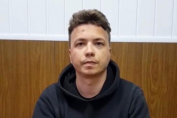 Roman Protassewitsch in einem Video aus einem weißrussischen Gefängnis, über dts Nachrichtenagentur
