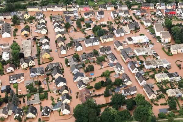 Hochwasser in Rheinland-Pfalz am 15.07.2021, über dts Nachrichtenagentur