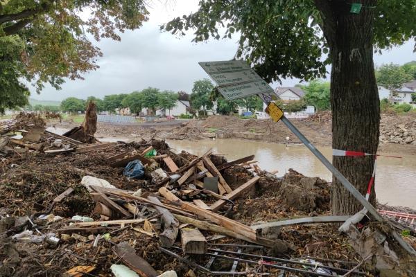 Nach dem Hochwasser 2021, über dts Nachrichtenagentur
