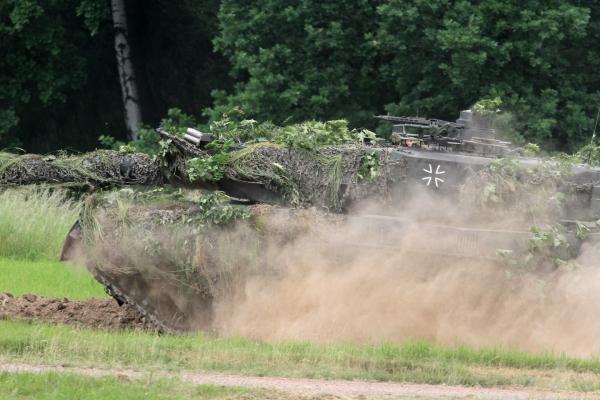 Leopard-Panzer, über dts Nachrichtenagentur