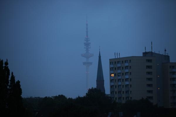 Heinrich-Hertz-Turm in Hamburg, über dts Nachrichtenagentur