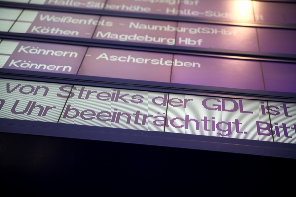 Streik der GDL, über dts Nachrichtenagentur